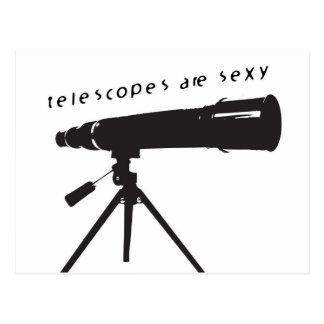 Postal de los telescopios