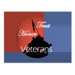 Postal de los veteranos del honor