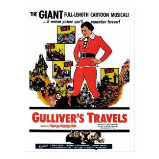 """Postal de los viajes de Gulliver"" Tarjetas Postales"