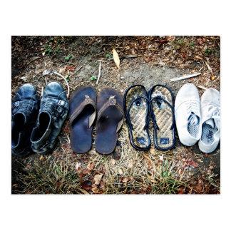 Postal de los zapatos