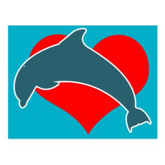 Postal de Luv del delfín