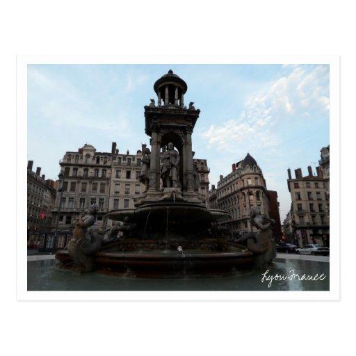 Postal de Lyon Francia