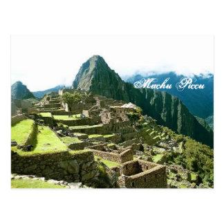 Postal de Machu Picchu Perú