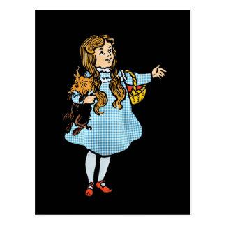 Postal de mago de Oz del vintage