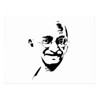 Postal de Mahatma Gandhi