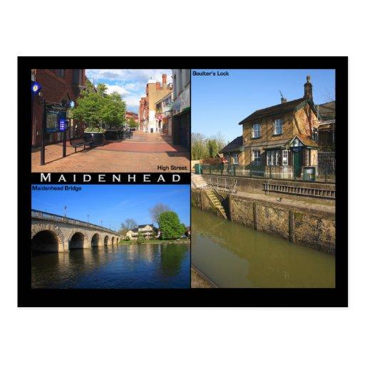 Postal de Maidenhead