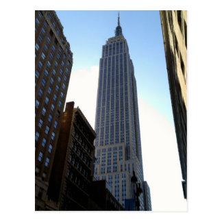 Postal de Manhattan Nueva York del Empire State Bu