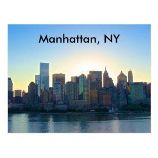 Postal de Manhattan Nueva York