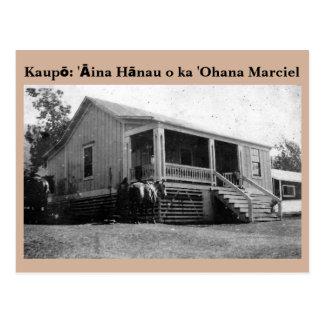 postal de Marciel del ʻOhana