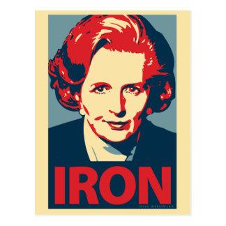 Postal de Margaret Thatcher
