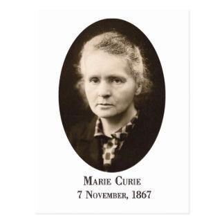 Postal de Marie Curie