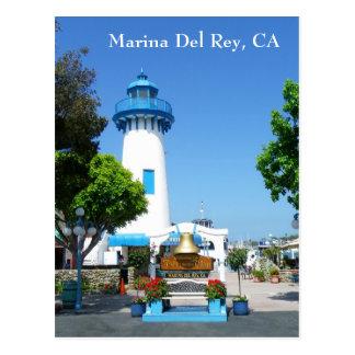 ¡Postal de Marina Del Rey!