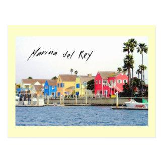 Postal de Marina Del Rey