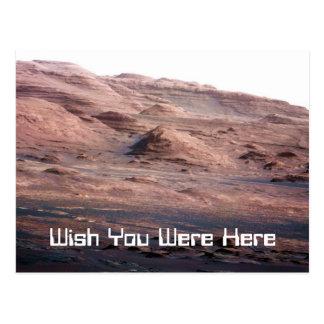 Postal de Marte de la diversión