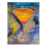 Postal de Martini del mango