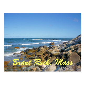 Postal de Massachusetts de la roca de Barnacla