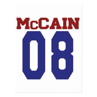 Postal de McCain '08