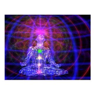 Postal de MeditationMan