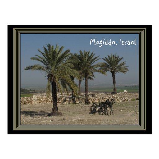 Postal de Megiddo Israel