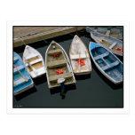 Postal de meneo de los barcos de fila
