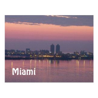 Postal de Miami