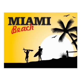 Postal de Miami Beach