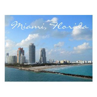Postal de Miami la Florida