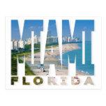 Postal de Miami, la Florida