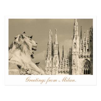 Postal de Milano
