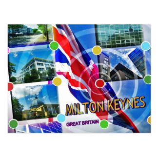 Postal de Milton Keynes Gran Bretaña