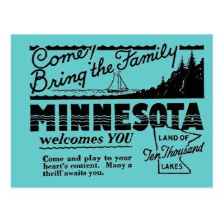 Postal de Minnesota