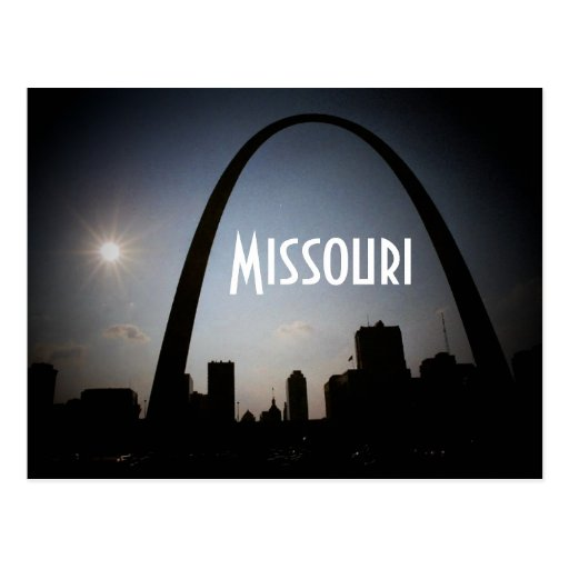 Postal de Missouri - modificada para requisitos pa