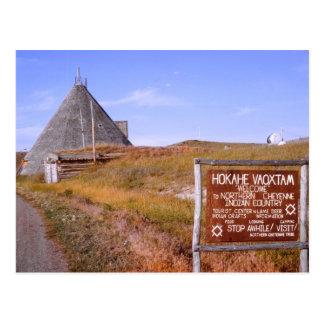 Postal de Montana Cheyenne