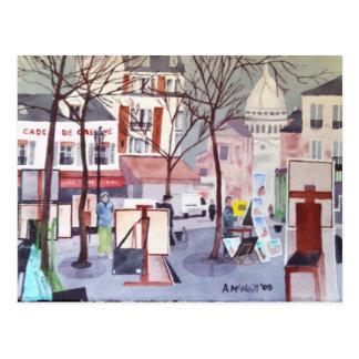 Postal de Montmartre