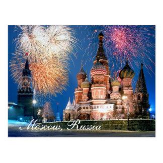 Postal de Moscú, Rusia