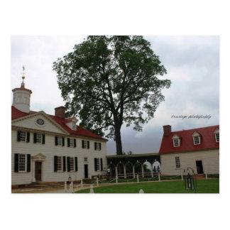 Postal de Mount Vernon