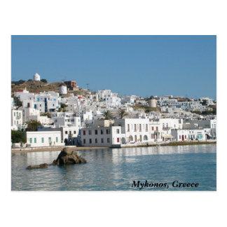 Postal de Mykonos Grecia