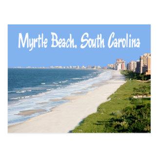 Postal de Myrtle Beach, Carolina del Sur, los