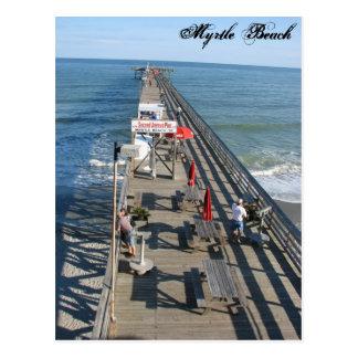 Postal de Myrtle Beach Carolina del Sur