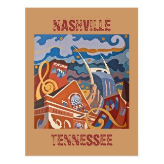Postal de NASHVILLE, TENNESSEE