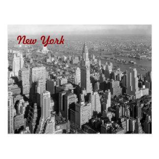 Postal de New York City del vintage