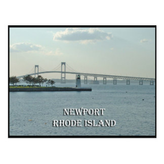 Postal de Newport Rhode Island