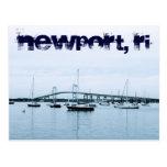 Postal de Newport RI