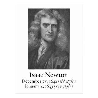 Postal de Newton