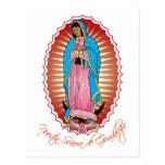 Postal de Nuestra Señora de Guadalupe