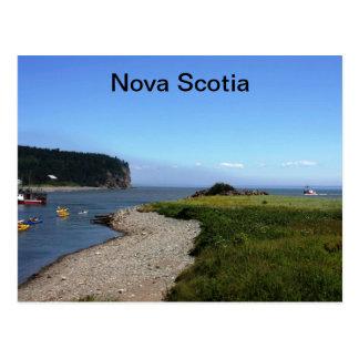 Postal de Nueva Escocia