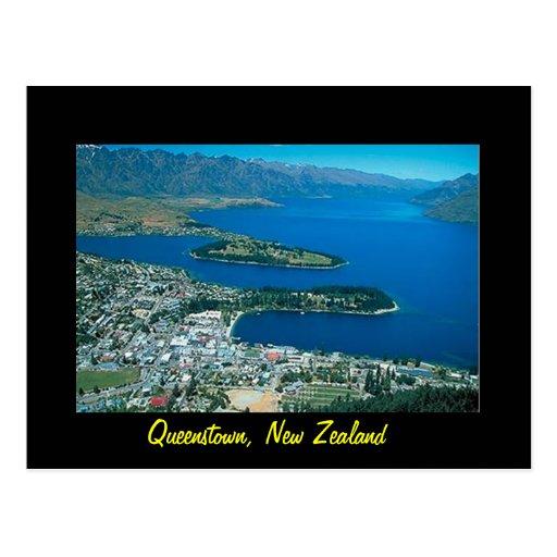 Postal de Nueva Zelanda Queenstown