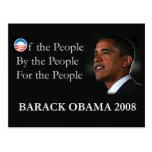 Postal de Obama