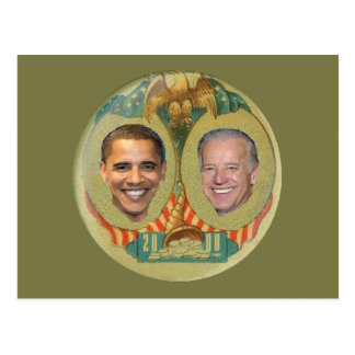 Postal de Obama Biden