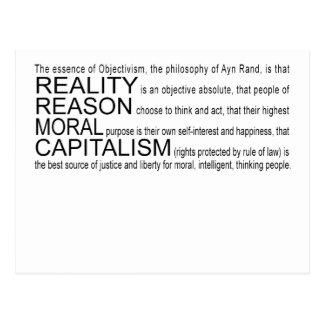 Postal de Objectivism